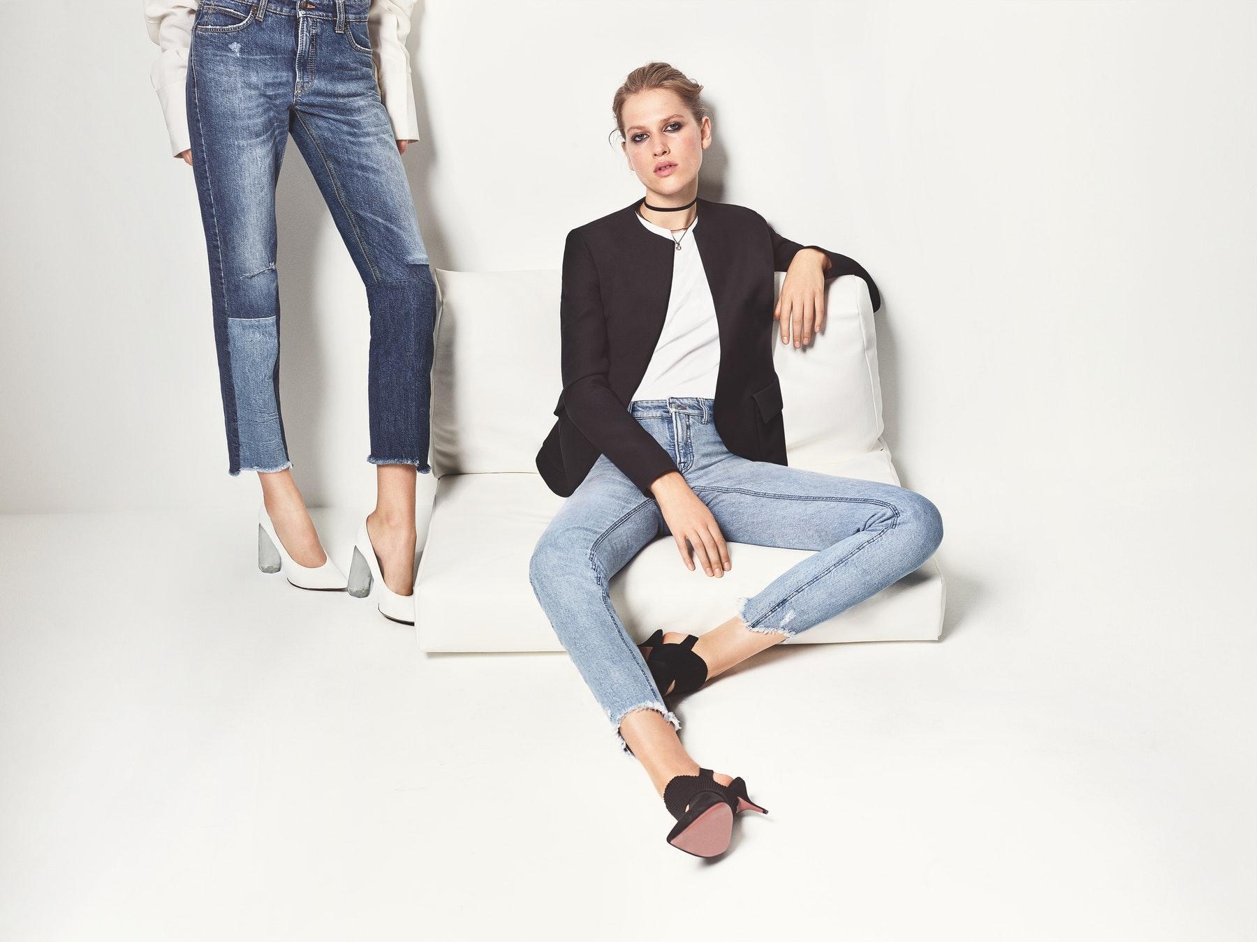 6c07ee1bdb6421 Немає речі практичніше, ніж модні джинси, які хоча б в двох-трьох варіантах  завжди присутні в шафі у будь-якої жінки.